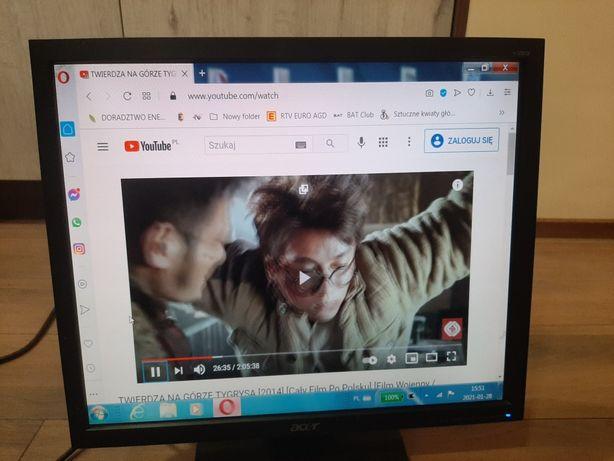 Monitor Acer 19'' na podstawie zwykłej