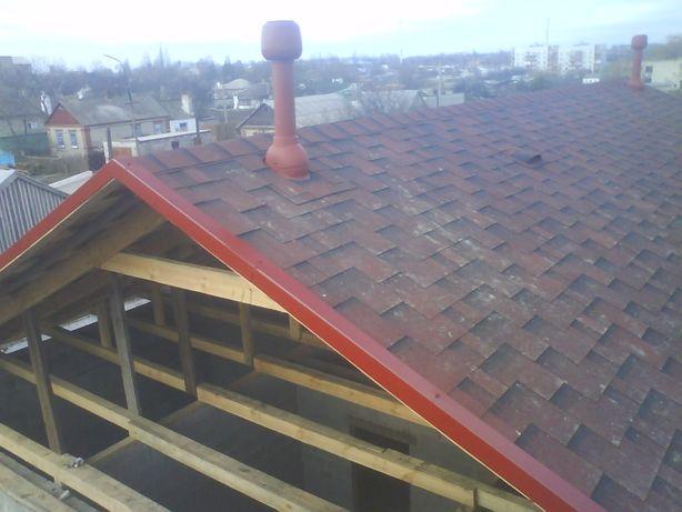 Кровельные работы. Ремонт крыш домов, гаражей и верхних балконов