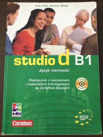 Studio d B1 - podrecznik z ćwiczeniami +CD