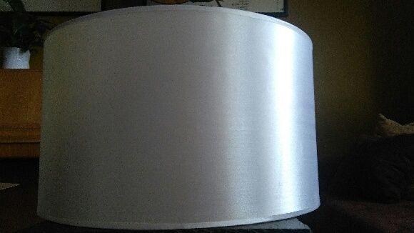 Abażur typu walec do lampy stojącej