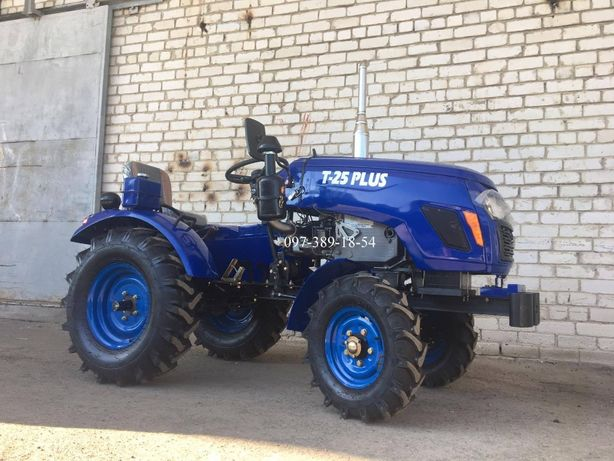 НОВИНКА Трактор Булат Т25 +фреза+2к плуг,Міні трактор,Мототрактор,ТОРГ