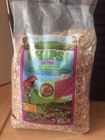 Chipsi extra 10l podłoże -żwirek-gekon zółw