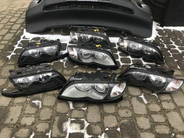 Фари BMW E46 рестайл дорестайл ксенон галоген фары БМВ Е46 разборка