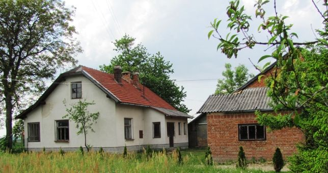 Dom z bud. gosp.- Do remontu, Wielopole Skrzyńskie, podkarpackie