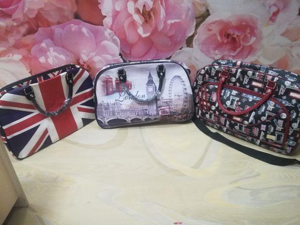 Шикарная фирменная Англия вместительная дорожная сумка - 70%