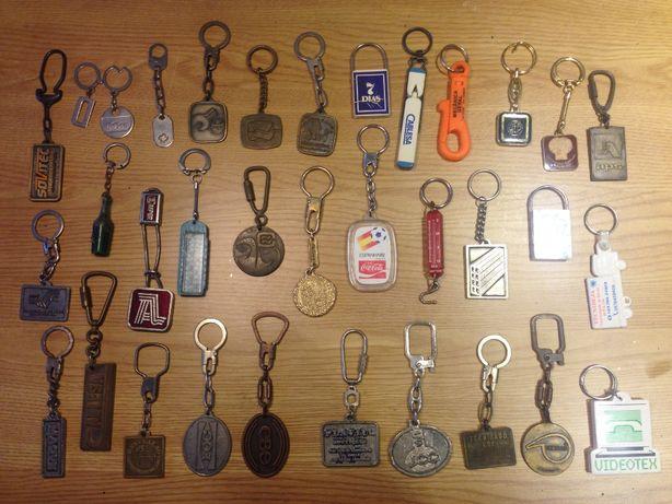 34 porta chaves dos anos 80