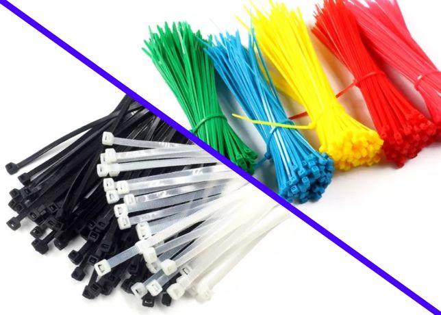 Кабельные стяжки нейлоновые ОПТ (цветные) – хомут пластиковый