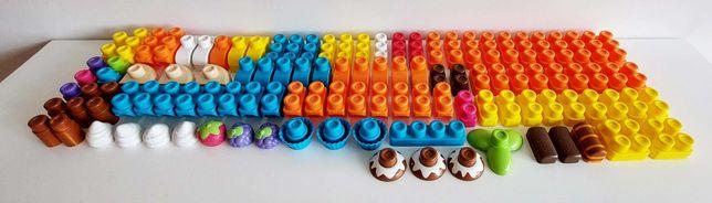 Conjunto de Legos blocos de construção da Chicco com 112 peças