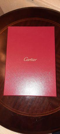 Коробка под ожерелье Cartier. Original