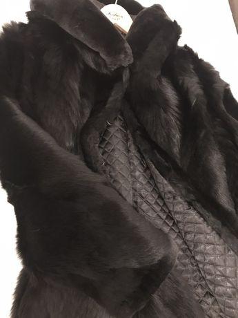 Шуба натуральная из волка
