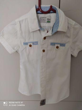 Paka Koszule i bluzy roz 104 dla chlopca 6szt.
