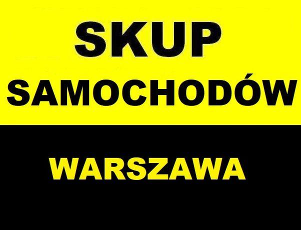 Skup aut*Skup Samochodów Warszawa! Kupimy auta !!Autoskup!