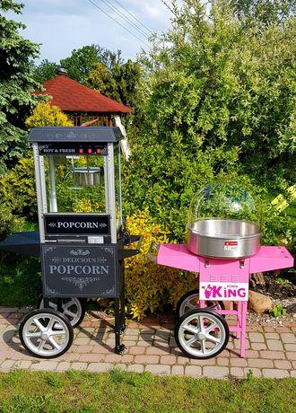 Wynajmę maszynę do waty cukrowej i popcornu / malowanie twarzy !!!