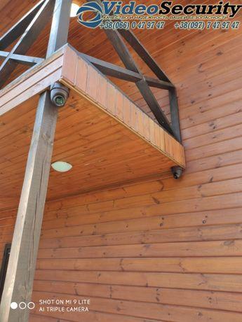 Установка систем видеонаблюдения, домофонов,сигнализация и СКД