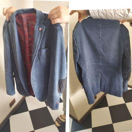 Піджак синій новий