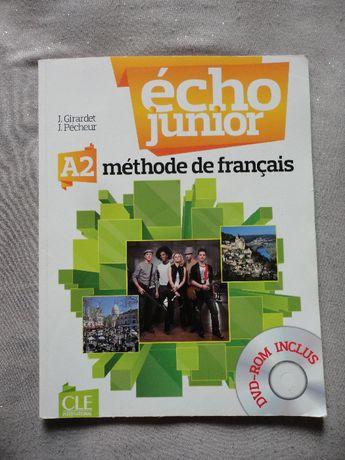 Echo Junior A2 (methode de francais) Livre de l'eleve + DVD