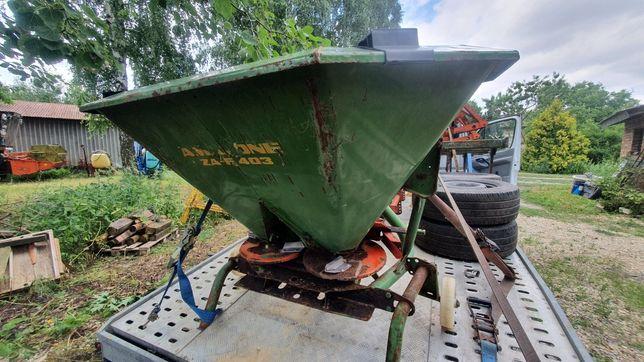 Rozsiewacz Amazone zaf 403, wałek, przekładnia, części do poprawek.