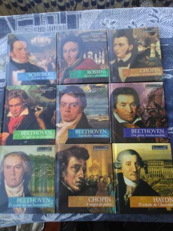 27 CD de música clássica