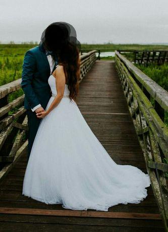 Suknia ślubna Demetrios Lisa Ferrera