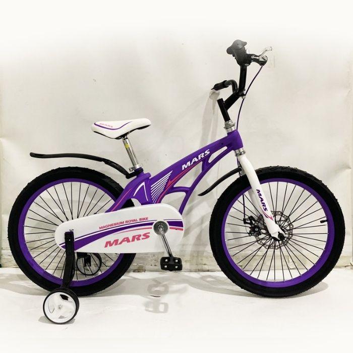 Детский легкий магниевый велосипед MARS-20 дюймов Черный от 10 лет фио Одесса - изображение 1