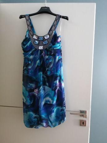 Elegancka sukienka Semper rozmiar 36 i bolerko Bialcon