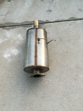 Panela de escape inox de 60mm