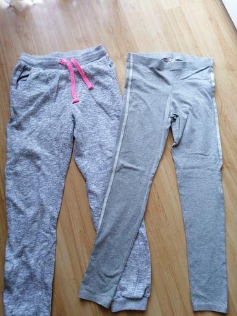 Zestaw :spodnie i getry