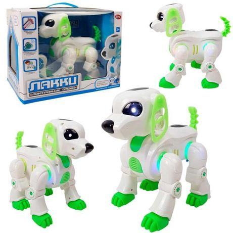 """Интерактивная собака, собака - робот на радиоуправлении """"Лакки"""""""