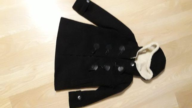 Płaszcz płaszczyk uniwersalny czarny 134