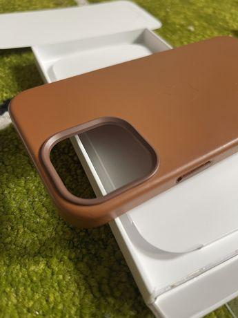 Кожаный Оригинальный чехол iphone 12 pro max