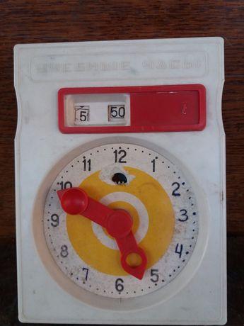 Игрушка Детские учебные часы ссср