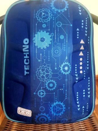 Рюкзак ZiBi синий ортопедическая спинка
