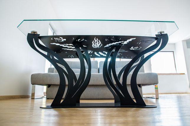 Nowoczesny i unikatowy Stolik kawowy 130x90x60 cm