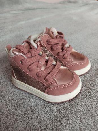 Buty rozowe marki h&m rozmiar 20