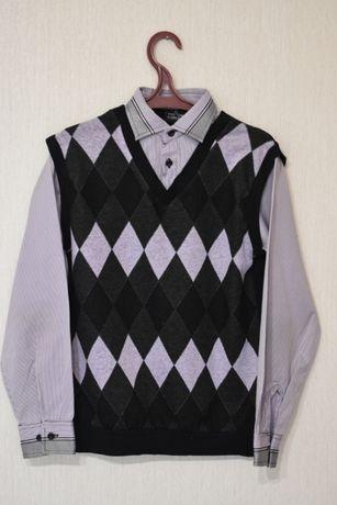 Рубашка - обманка в школу