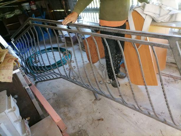 Barjerka na schody kuta 5-7 schodków