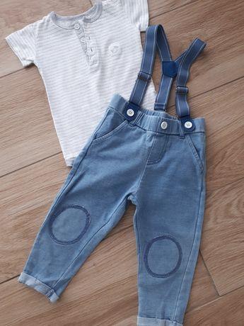 body i spodnie lato 80
