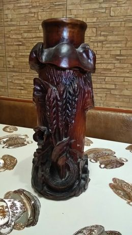 Ваза дерев'яна ручна робота