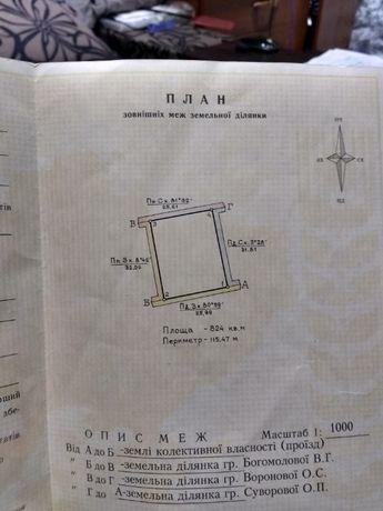 Дачный участок в Дарьевке