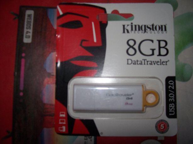Pen 8 GB Kingston novo
