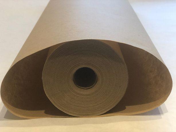 Крафт бумага упаковочная тонкая рулон 60см*100 метров, пл.40 г/м2