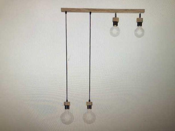 OBI Lampa     CLARTE WOO D dąb olej.metal
