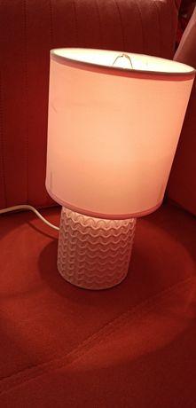 Lampka nocna stołowa różowa