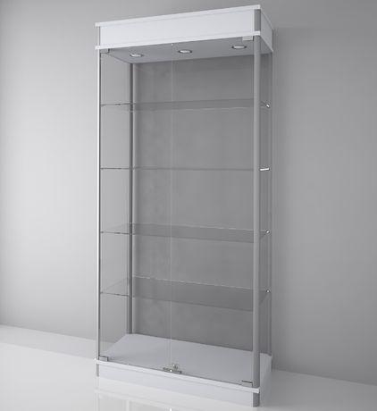 gablota szklana, ekspozycyjna, gablota sklepowa 190x80x40 fvat