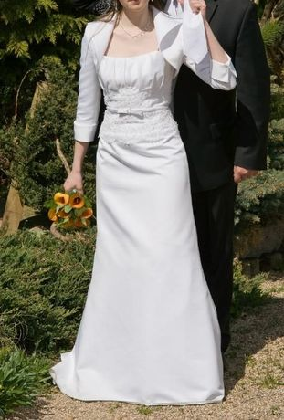 Suknia ślubna ELIZABETH, model E-2071T, rozmiar 38