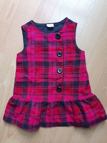 Krótka sukienka rozmiar 74 cm