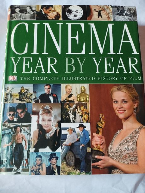 """""""CINEMA. Year by year"""" Ilustrowana historia filmu po angielsku"""