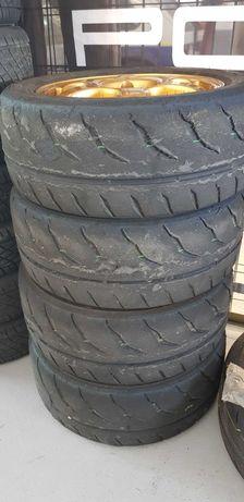 4 Jantes Speedline 15  4 x 108 + pneus competição