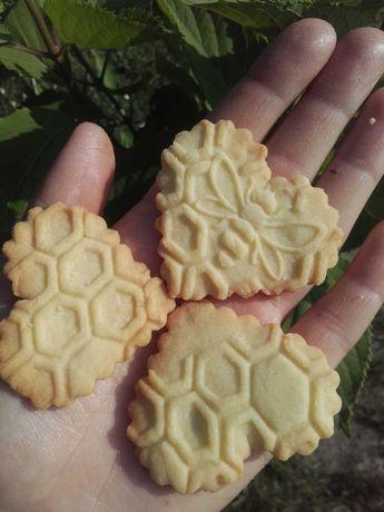 Legalny wałek, wzór pszczoły plastry miodu, do ciastek