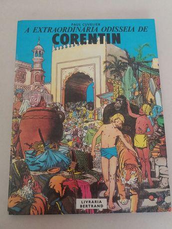 Livro BD: A Extraordinária Odisseia de Corentin (vintage - 1981)